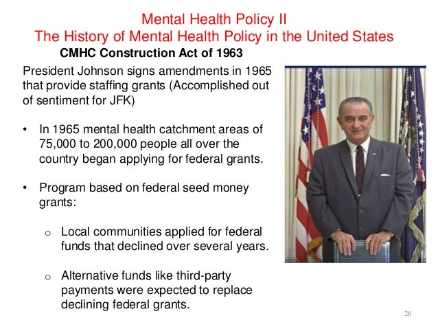 a research on the history of mental illness in the united states In the united states, mental illnesses are diagnosed and coded in administrative databases based on the diagnostics and statistical manual-iv (dsm-iv) 6 mental illnesses are common in the united states 7 an estimated 262% of americans aged 18 and older—about one in four adults or.