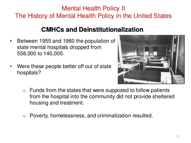Mental Health Policy - The History of Mental Health Policy ...