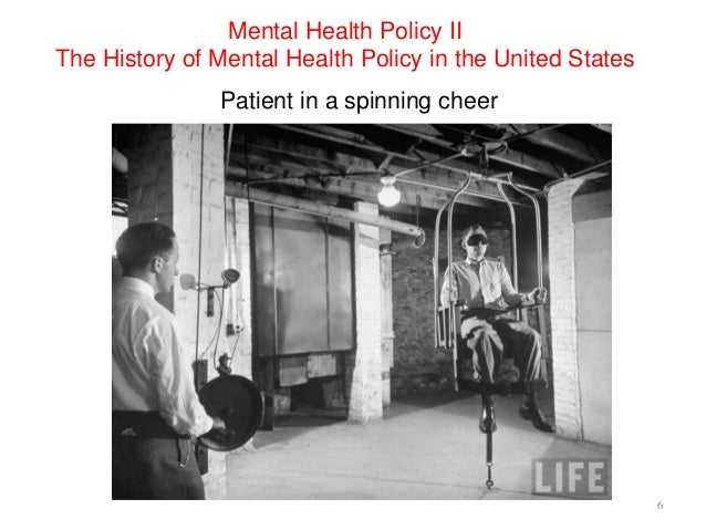 "history and evolution of the mental health According to powell (2008, p 5), the next big change happened in the mid-1980s when, ""health insurers developed case management programs, targeted at the catastrophically injured and ill population."