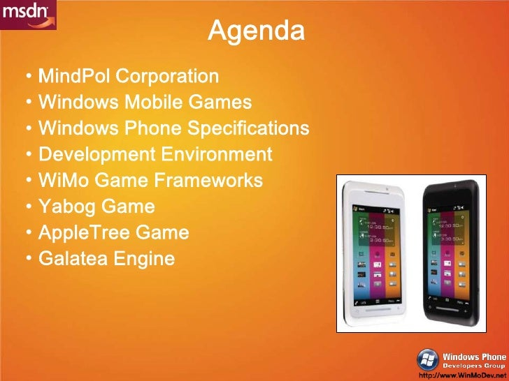Casual Game for Windows Mobile Slide 2