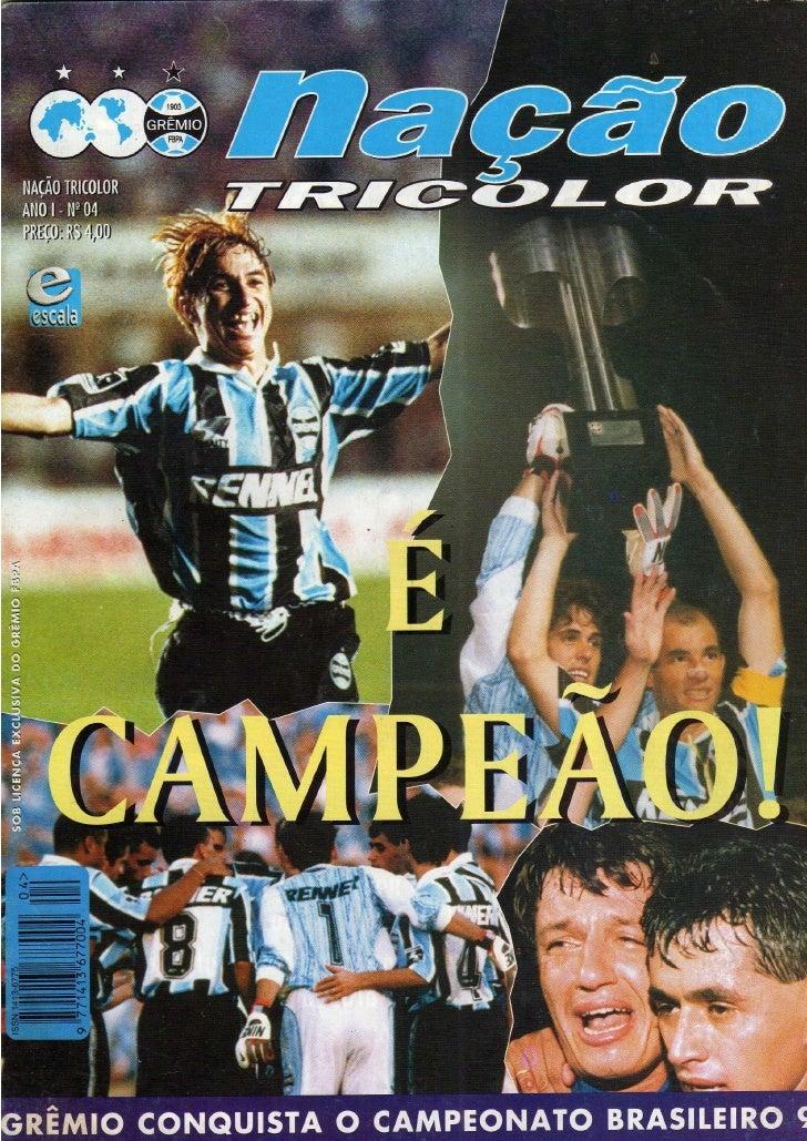 03 - Nação tricolor nº 04 - é campeão ( 1996 )