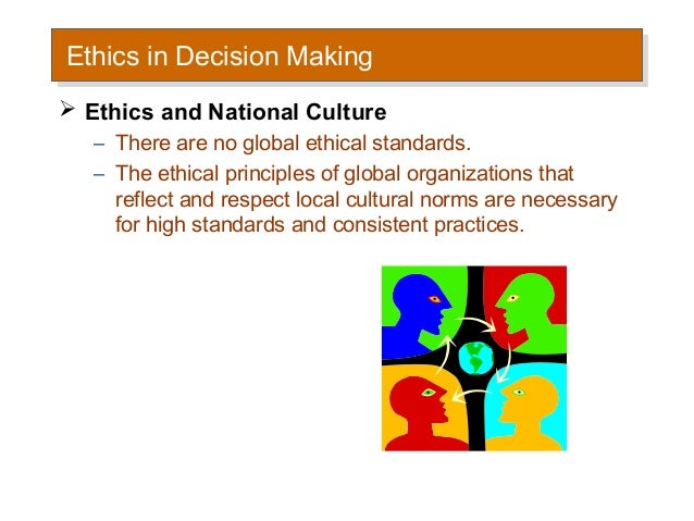 four principles of individual decision making The values inherent in the principles clearly resonate with our moral norms, and their practical use in ethical decision making is immediately apparent as a theoretical framework, the four principles remain as useful today as when they were published over 30 years ago however, in the same time period, the field has drastically changed.