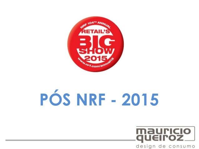 PÓS NRF - 2015