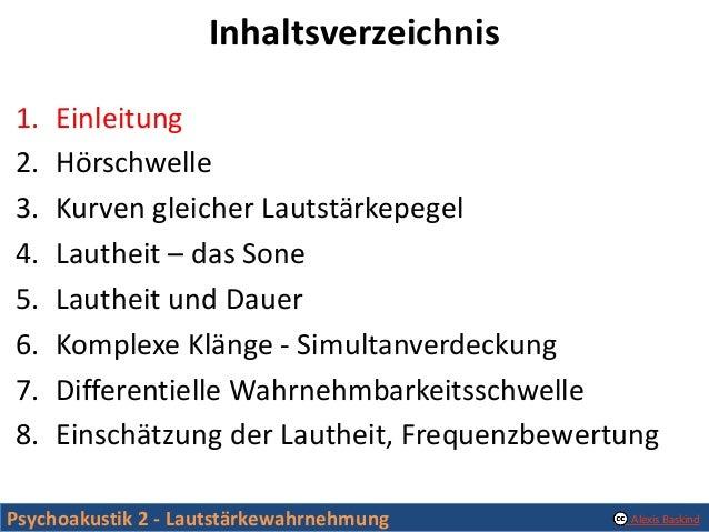 Psychoakustik 2 - Lautstaerkewahrnehmung Slide 3