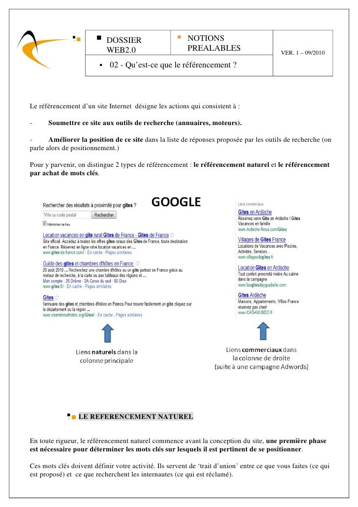 DOSSIER                       NOTIONS                            WEB2.0                        PREALABLES                 ...