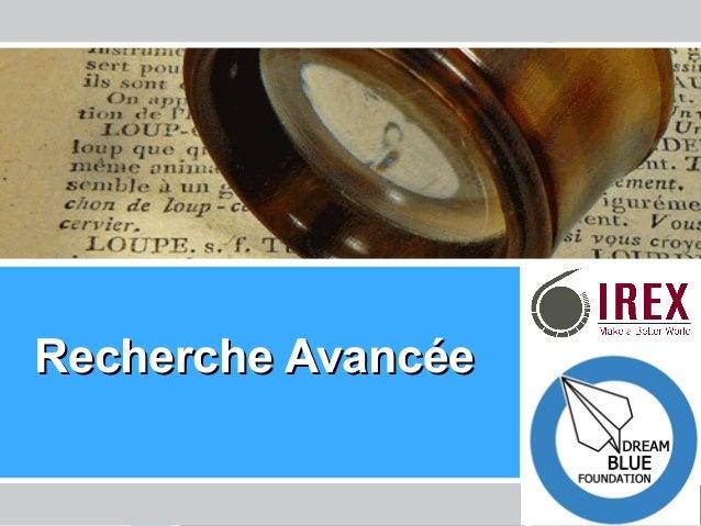 Les Enseignants de l'Ere Technologique – La Tunisie Recherche AvancéeRecherche Avancée