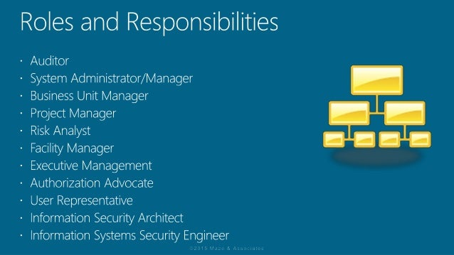 rmf roles and responsibilities part 1
