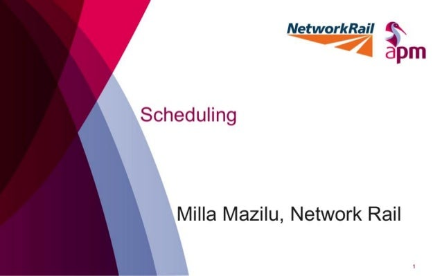 Scheduling - Project Management