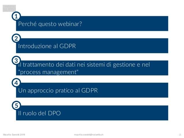 Slide webinar SUPSI GDPR Slide 2