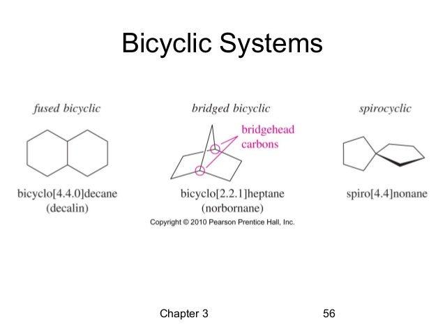 Bicyclic Ring Nomenclature