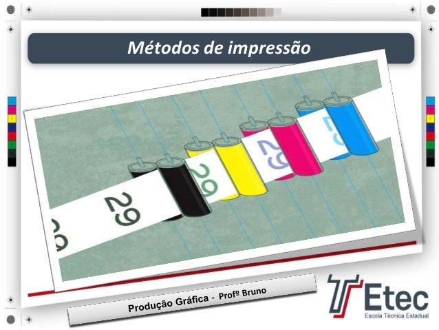 Métodos de impressão