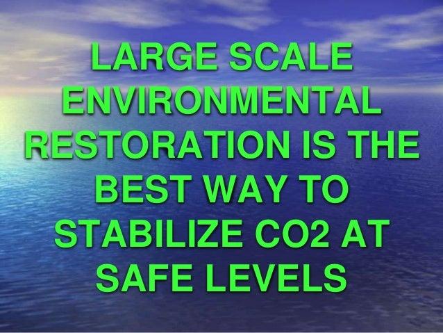 Thomas Goreau - Eco-restoration Success Stories Slide 2