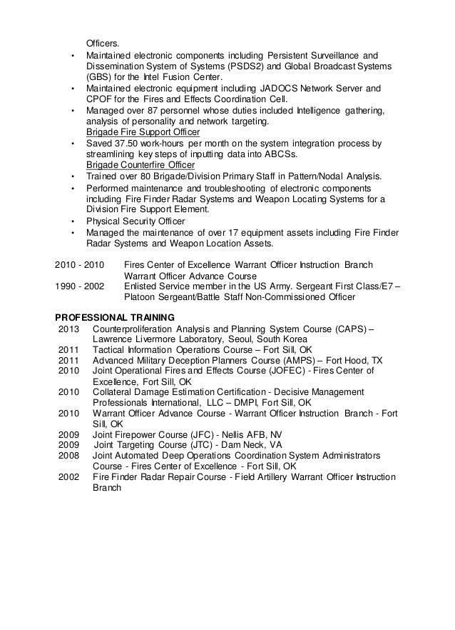 Resume Aaron Robertson Intel Targeting0505
