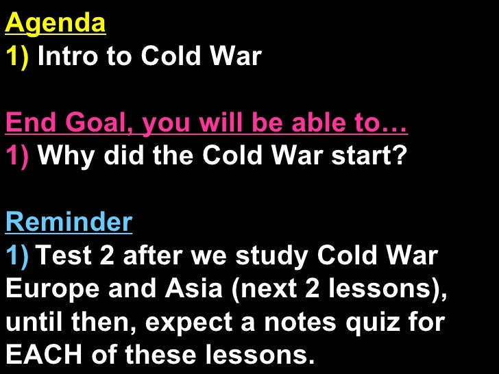 an overview of the cold war in asia after the world war two The first phase of the cold war began in the first two years after the end of the second world war in 1945  in asia, the red army had  after world.