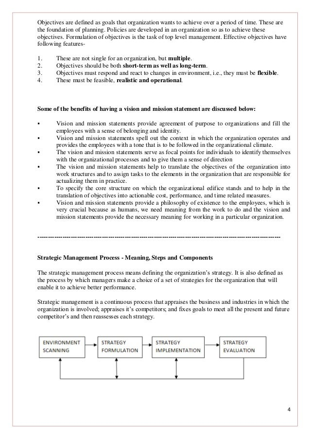 Why Is Strategic Management Needed?