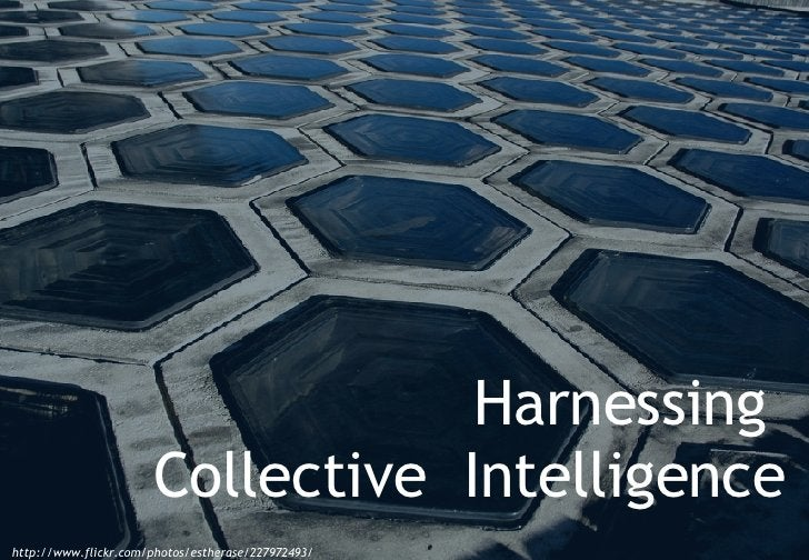 http://www.flickr.com/photos/estherase/227972493/ Harnessing  Collective  Intelligence