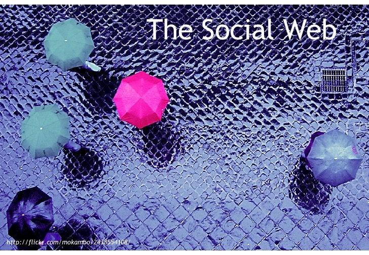 The social web The Social Web http://flickr.com/mokambo/2438554108/
