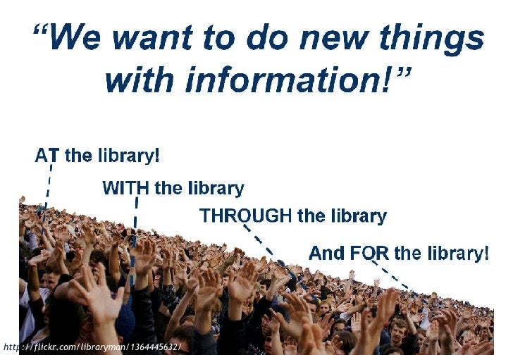 Web 2.0 comes to libraries http ://flickr.com/libraryman/1364445632/