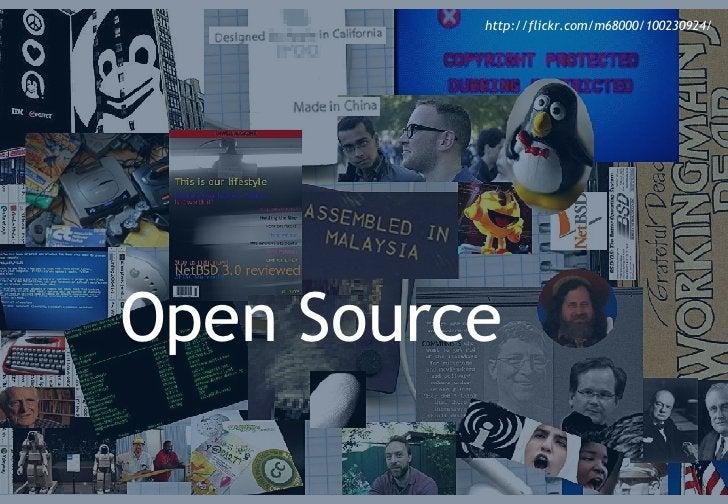 The open source model Open Source http://flickr.com/m68000/100230924/