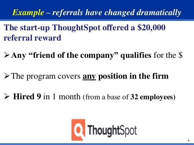 employee referral example