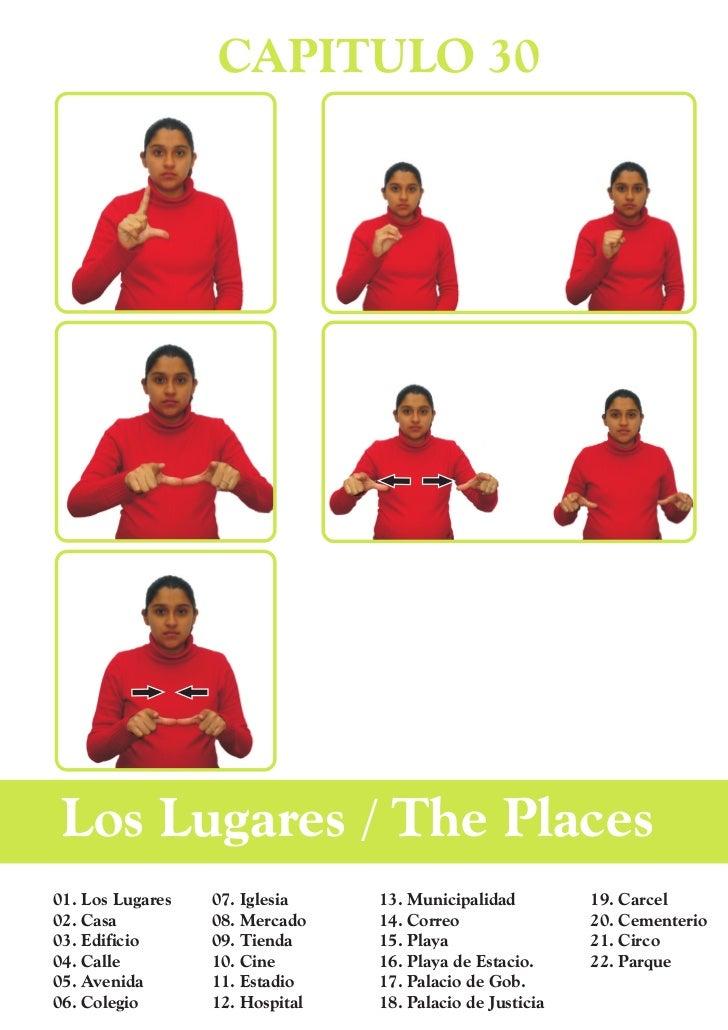 CAPITULO 30 Los Lugares / The Places01. Los Lugares   07. Iglesia    13. Municipalidad         19. Carcel02. Casa         ...