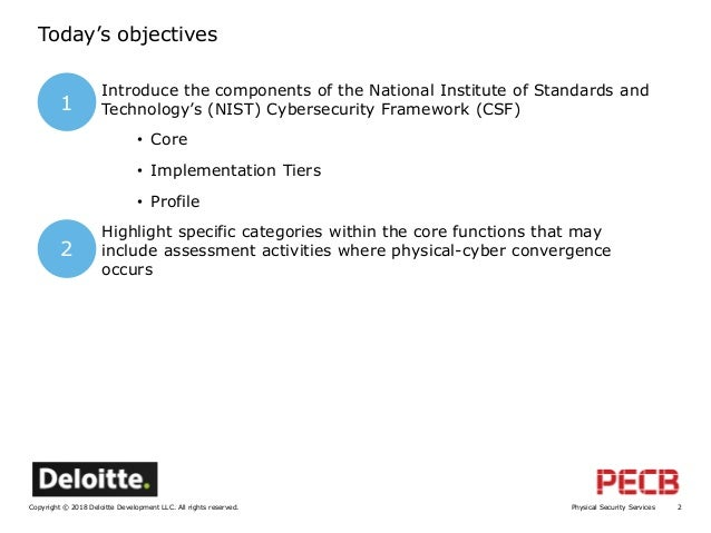 Introduction to Risk Management via the NIST Cyber Security