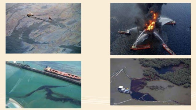Negative Effects Of An Oil Spill • Oil can lead to air pollution. • Oil destroys the habitat of marine life. • Oil can lea...
