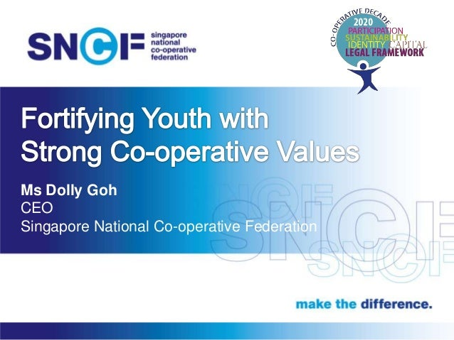 Ms Dolly Goh CEO Singapore National Co-operative Federation