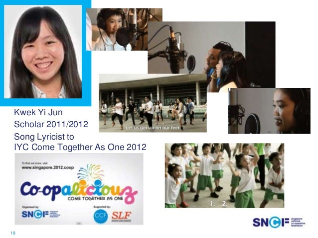 Ms Dolly Goh Fortifying Youth with Strong Cooperative Values