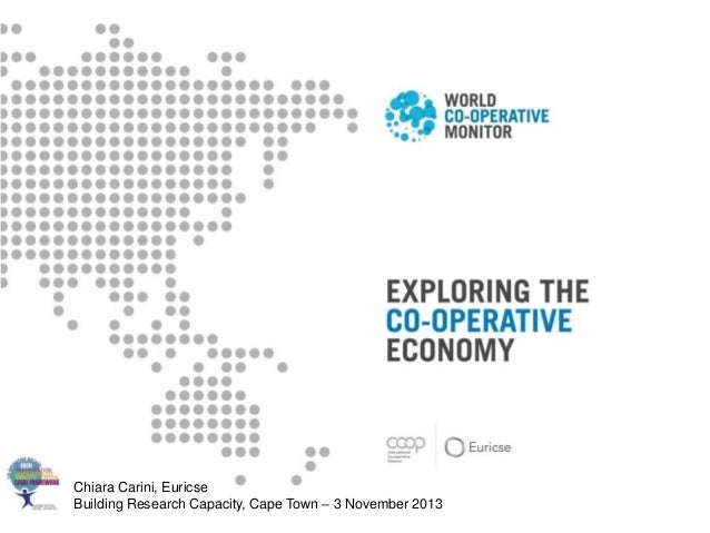 Chiara Carini, Euricse Building Research Capacity, Cape Town – 3 November 2013