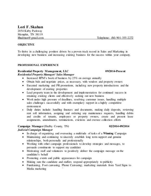RPM resume