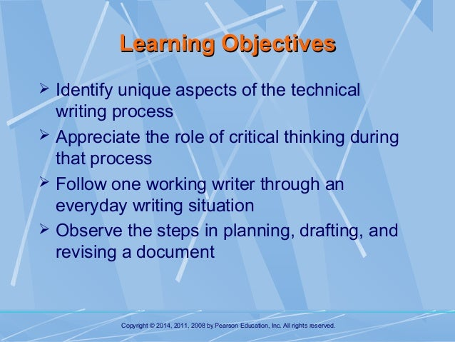 technical writing process Learn about the technical writing process how an experienced technical writer plans, researches, and crafts content.
