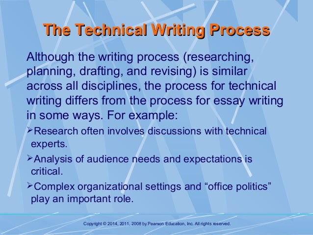 technical writing process ppt
