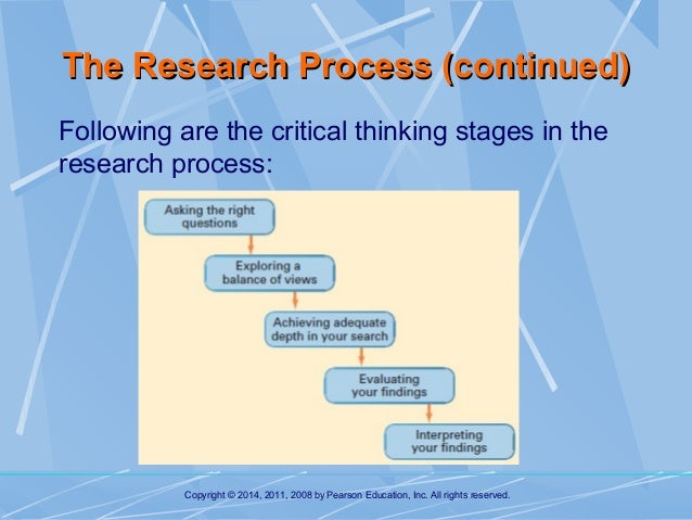 Critical thinking research paper