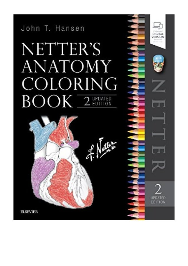 Netter\'s Anatomy Coloring Book Updated Edition PDF - John T. Hansen …