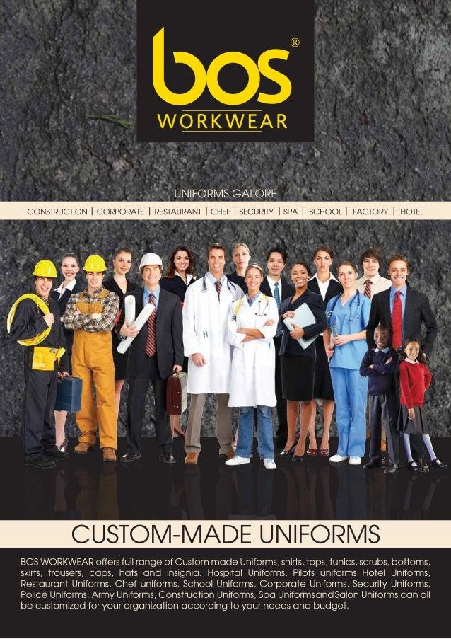 BOS WORKWEAR PROFILE