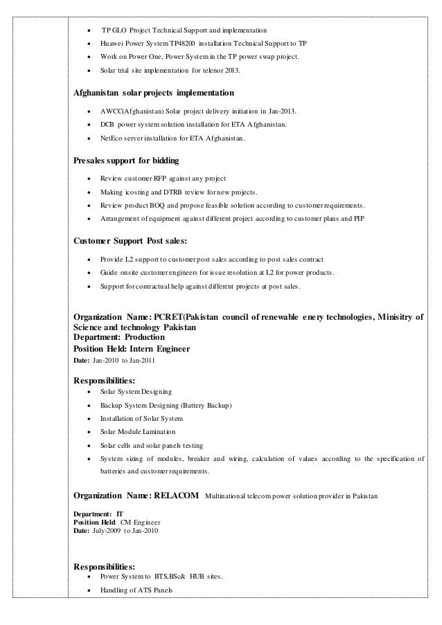 zahid iqbal resume
