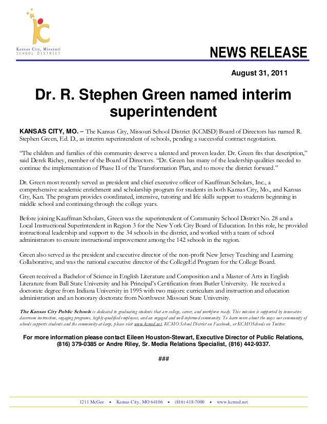 Steve Green release