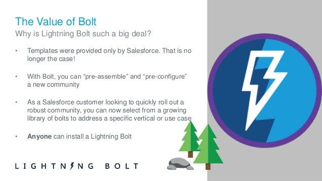 lightning bolt for communities 101