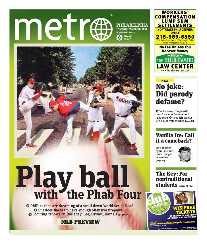 PHILADELPHIA                                                       Thursday, March 31, 2011                               ...