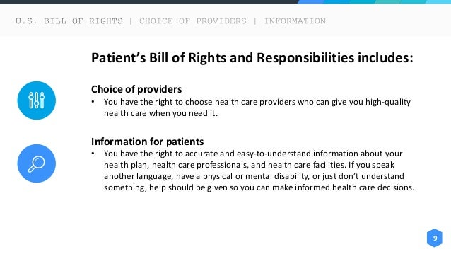 summary of patients bill of rights Summary of patient rights & responsibilities  know the number of nursing staff working on your unit and the number of patients vermont patient's bill of rights .
