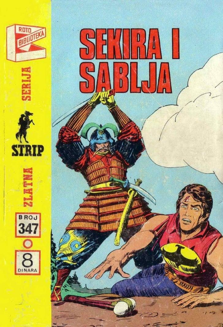 0347  Sekira I Sablja