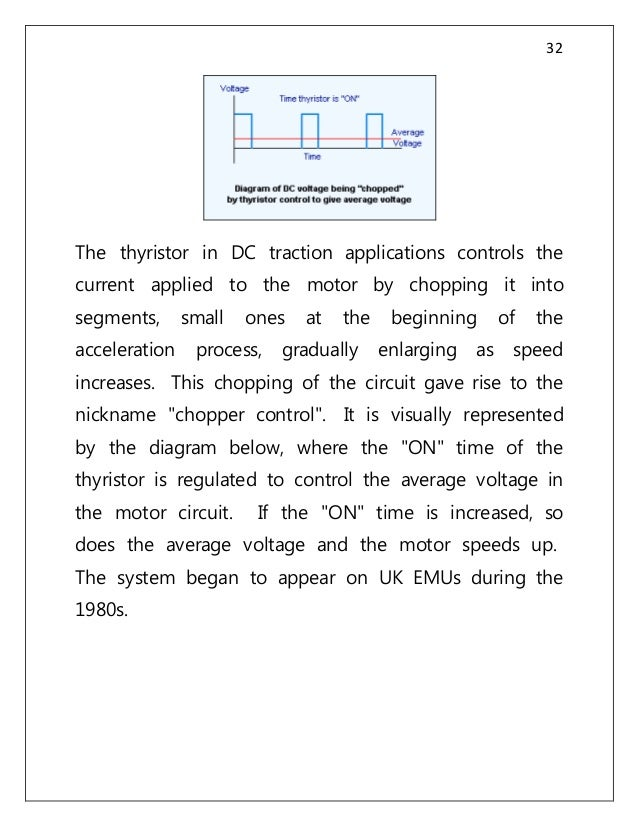 Bhel for Dc traction motor pdf