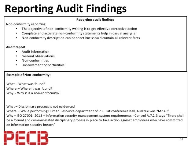 Best Practices To Perform An Isms Internal Audit Based On