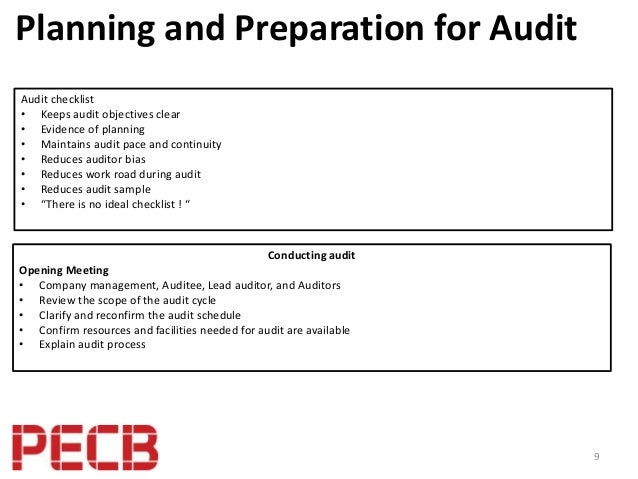 best practices to perform an isms internal audit based on iso iec 270