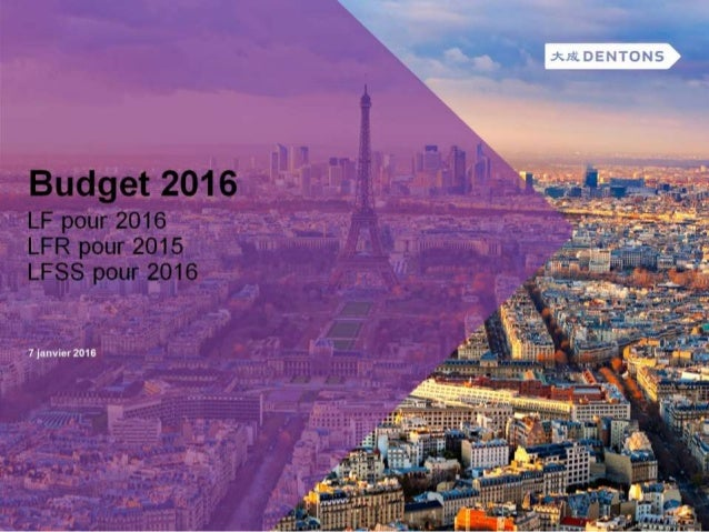 Lois de finances 2016 07012016 - V1 Link