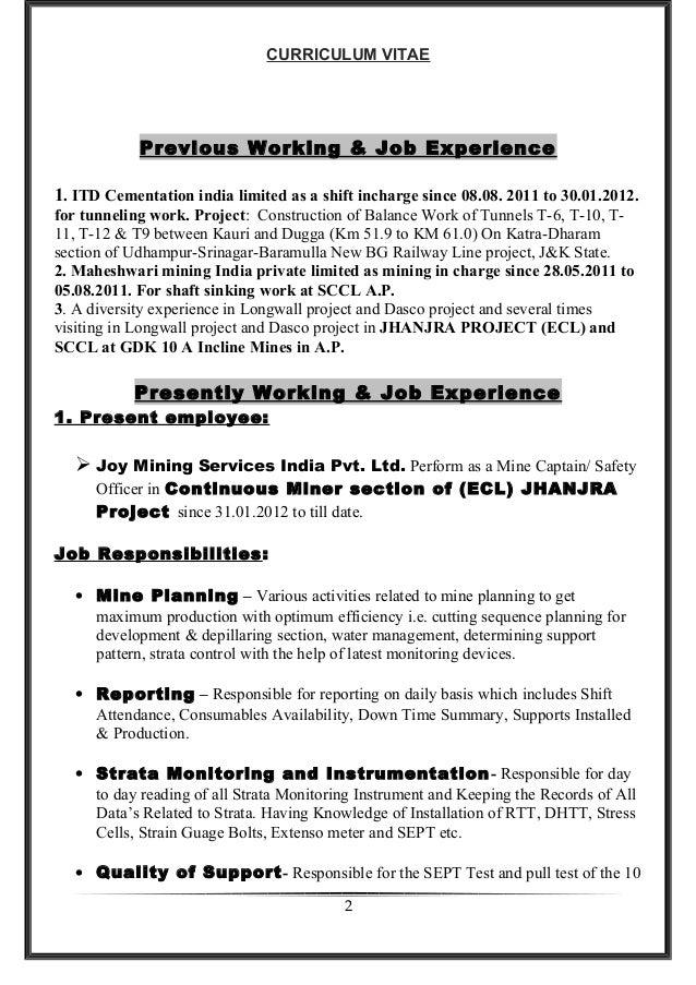 Saroj Resume Jh