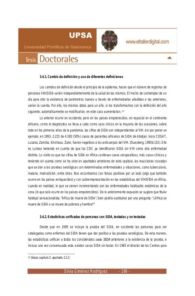 Silvia Giménez Rodríguez - 190 - 3.4.1. Cambio de definición y uso de diferentes definiciones Los cambios de definición de...