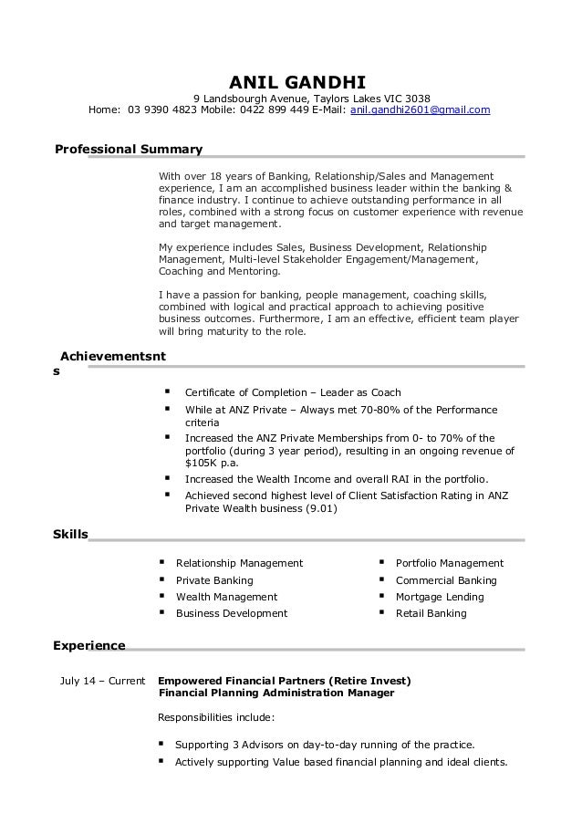 AG New Resume