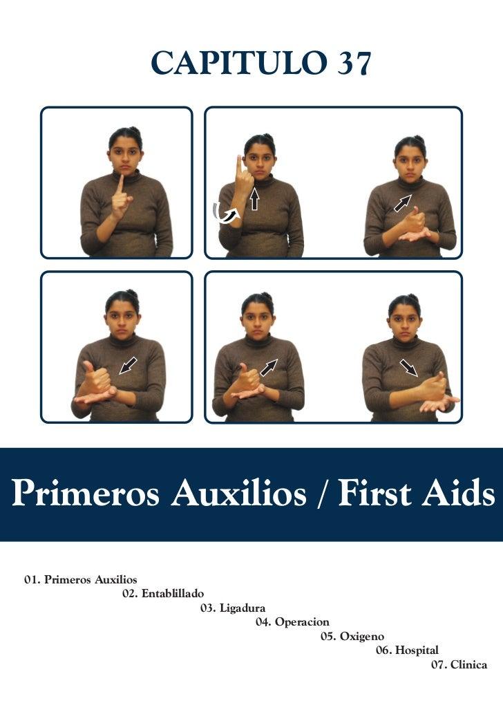 CAPITULO 37Primeros Auxilios / First Aids01. Primeros Auxilios                  02. Entablillado                          ...